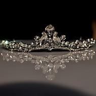 Dame / Blomsterpige Rhinestone / Legering Headpiece Bryllup / Spesiell Leilighet Diademer Bryllup / Spesiell Leilighet 1 Deler