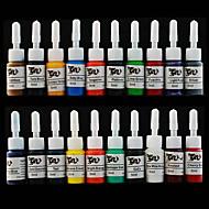 문신에 대한 문신 잉크 20 * 5ml의 20 색 안료