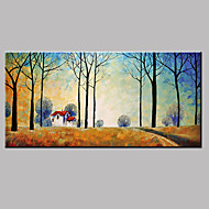 Pintados à mão PaisagemModerno 1 Painel Tela Pintura a Óleo For Decoração para casa