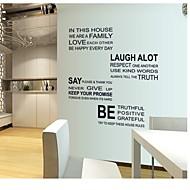 Ord & Citater / abstrakt Wall Stickers Fly vægklistermærker , PVC 60*90