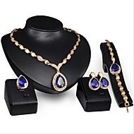 Vintage / Zabava / Posao - Žene - Ogrlica / Naušnica / Narukvica / Prsten (Pozlaćeni nakit / Drago kamenje i kristali / Kubični cirkon)