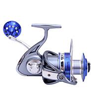 Molinetes de Pesca Molinetes Rotativos 5.5:1 9 Rolamentos TrocávelPesca de Mar / Rotação / Pesca de Gancho / Pesca de Água Doce / Pesca