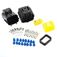 Auto Vehicle 8 Way Waterproof Electrical Wire Cable Connector Kit Durable