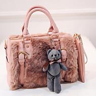 VENETA® Women Other Leather Type Barrel Shoulder Bag / Tote - White / Pink / Brown / Black