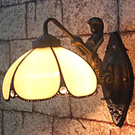 E27 220V30*30CM 3-5㎡  European Contracted Rural Creative Wrought Iron Wall Lamp Led Lights