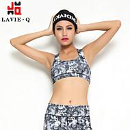 Ioga Malha Íntima Calças + Tops Respirável Stretchy Wear Sports Mulheres - LAVIE.Q Ioga
