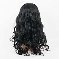 30% Rabatt auf hochwertige Spitzefrontmenschenhaarperücke natürliche schwarze Farbe unverarbeiteten brasilianischen reinen Haares