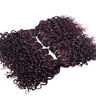 Tissages de cheveux humains Cheveux Brésiliens Bouclé 12 mois 4 Pièces tissages de cheveux