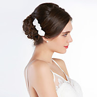 Women's Silk Headpiece-Wedding / Special Occasion Hair Combs