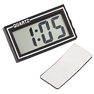Digital LCD Car Dashboard Desk Date Time Calendar Clock
