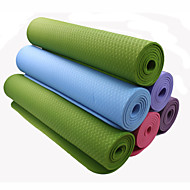 TPE Yoga Mats 183*80*0.6 Non Toxic 6 Pink / Blåt / Grøn / Orange / Lilla #