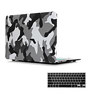 """2 en 1 mate cristalina superficie de goma cubierta de la caja dura para el MacBook Air de 11 """"/ 13"""" + cubierta del teclado"""