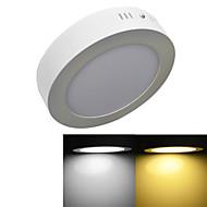 12W תאורת תקרה 60 SMD 2835 960 lm לבן חם / לבן קר דקורטיבי AC 85-265 V חלק 1