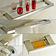 Jogo de Acessórios para Banheiro , Contemporâneo Aço Inoxidável De Parede