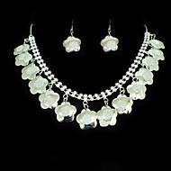 Ensemble de bijoux Sans pierre Alliage Femme