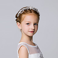 Flower Girl's Alloy Headpiece-Wedding / Special Occasion / Casual / Outdoor Headbands 1 Piece