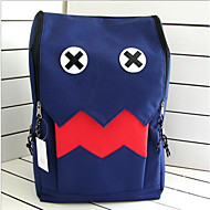 Unisex Canvas Backpack Blue / Yellow / Red / Black / Fuchsia