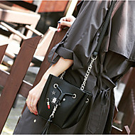 Women Acrylic Baguette Shoulder Bag - Black