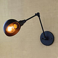 The Balcony Stair Corridors Contracted Creative Restaurant Bar Wall Lamp, Wrought Iron Long Arm