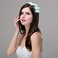 Women's Polyester / Acrylic / Plastic Headpiece - Wedding / Special Occasion / Casual / Outdoor Flowers 1 Piece