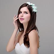 Dame Polyester / Akryl / Plastikk Headpiece Bryllup / Spesiell Leilighet / Avslappet / Utendørs BlomsterBryllup / Spesiell Leilighet /