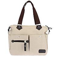 Women Canvas Handbag Large Capacity Casual Shopping Travel Crossbody Bag Shoulder Messenger Bag