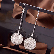 Hollow Out Ball Drop Earrings