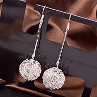 Damen Ohrring Legierung Ohne Stein Drop Earrings