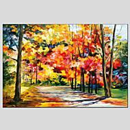 olejomalby moderní krajina deštivé ulice, canvas materiál s dřevěnou nosítkách připraven pověsit velikost: 60 * 90cm.