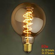 G125 проволоки вокруг 60w лампа накаливания Эдисон Эдисон лампочка бар жемчужина вольфрама лампочка ретро украшения