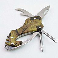 Fashion Stainless Steel/Aluminium Alloy Bottle Opener/Key Rings/Screwdriver/Knives Multitools Camping/Outdoor