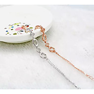 Women's Chain Bracelet Silver / Sterling Silver Non Stone