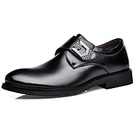 Men's Shoes Wedding / Office & Career / Party & Evening / Casual Oxfords / Slip-on Black / Brown