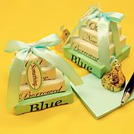 Favores para la Fiesta del Té(Azul) -Tema Asiático / Tema Clásico / Tema Fantástico-No personalizado 5*5*5cm N/C