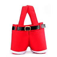5ks Vánoce dovolená červená svatební cukroví dárkové tašky