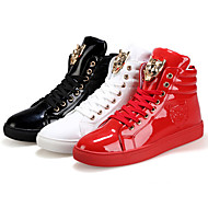 Running Shoes Men's Shoes Outdoor / Casual PVC / Glitter Fashion Sneakers Black / Red / White