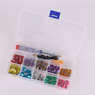 100pcs Auto Mini-Flachsicherung Kit 3a 4a 5a 7.5a 10a 15a 20a 25a 30a 35a mit elektrischer tester electro Sicherung