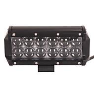 2x 60 wattů vedl pracovní světlo bar offroad 12V 24v atv offroad místo pro vozíky 4x4 UTV