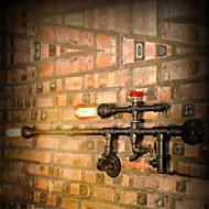 Vegglamper / Utendørs Vegglamper Mini Stil Rustikk Metall