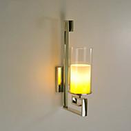 פמוטי קיר / תאורת קירות חוץ / נורות קריאה לקיר סגנון קטן מודרני/עכשווי מתכת
