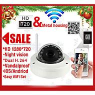 szsinocam®ドームIPカメラ720P IRカットナイトビジョン動き検出のP2P無線