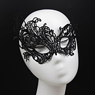Gothic Style Black Lace Mask for Wedding Party