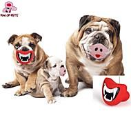 Kutyák Játékok kisállatoknak Rágójátékok Ajkak Piros / Rózsaszín GUMI