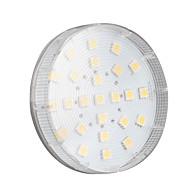 4W GX53 Точечное LED освещение 25 SMD 5050 260 lm Тёплый белый AC 220-240 V