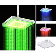 Modern Regendouche Chroom Kenmerk for  LED , Douchekop