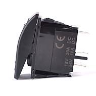 iztoss 5pin lézeres tálca billenkapcsolót on-off led 20a 12v kék vezetéket telepíteni