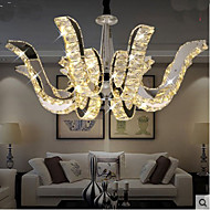 LED Crystal Lamp Modern Luxury Candle Crystal Pendant Lamp