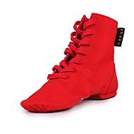Zapatos de baile ( Negro / Rojo / Blanco ) - Latino - No Personalizables - Tacón Plano
