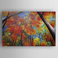 Peint à la main Paysages AbstraitsModern Un Panneau Toile Peinture à l'huile Hang-peint For Décoration d'intérieur