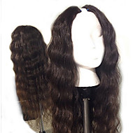 Brazilian U Part Wig Virgin Human Hair U Part Wigs With 2x4 Opening Body Wavy Upart Wig Natural Color Middle Part